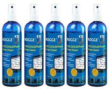 5er Pack ROGGE LCD/TFT/LED + Plasma Bildschirmreiniger, 250ml Pumsprayflasche