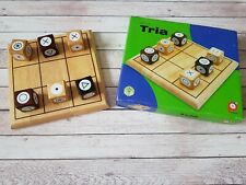 Pintoy Tria Game - Wooden Game Of Strategy