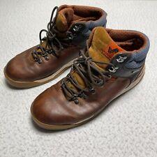 Forsake Men's Size 11 Hiking Boots Trail Waterproof Leather Sneaker Shoe Tan