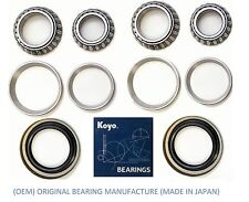 1979-1995 Toyota Pickup 4WD 4x4 AWD Front Wheel (OEM) KOYO Bearing & Seal Set