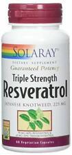 Solaray Triple Strength Resveratrol 60 VegCaps