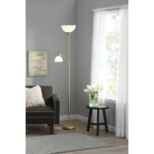 """Metal Floor Lamp with Reading Light for Living Room Uplight Stand, 72"""" NEW"""