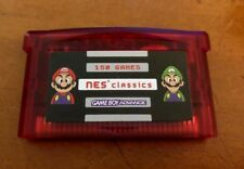 NES Classics GBA Pack - 150 in 1 Nintendo Gameboy Advance Multicart Player DS SP