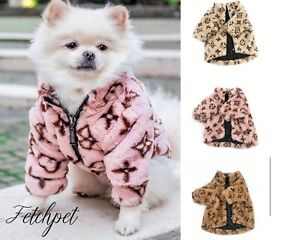 fashion coat designer clothing for dogs/puppy xs-xl