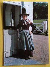 THE WELSH COSTUME A COSTUME OF A COTTAGE ABERTEIFI CARDIGANSHIRE POSTCARD