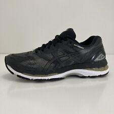 Asics Gel Nimbus 19 Black/White Women's Sz 9.5 Athletic Running Shoes (T750N)