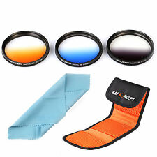 58mm Graduated Color Filter Kit for Canon EOS 700D 650D 550D 500D 450D 18-55mm