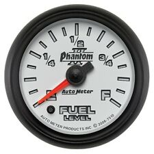 """Auto Meter 7510 2-1/16"""" Fuel Level Gauge Stepper Motor Phantom II"""