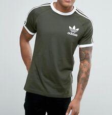 Adidas Originals Mens California Retro Essentials Crew Neck Short Sleeve T-Shirt