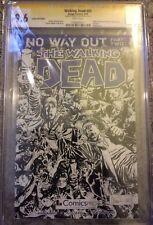 Walking Dead #81 9.6 CGC SS Comics Pro Variant Signed by Kirkman