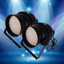 2PCS 6 Channel 64 RGB 177 LED Par Light DMX512 DJ Stage Effect Light Party Club
