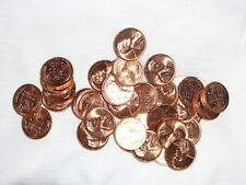 Uncirculated BU Lincoln Wheat Cent Penny Mixed Dates 1952-D 1955-D 1957 1958