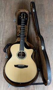 FAITH Venus FVHG electro acoustic guitar cutaway SOLID SPRUCE TOP  Hard Case
