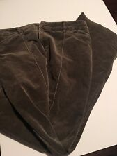 Lord & Taylor Women Cords Size 10 Slate