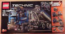 Lego tecnología 8052-contenedor-Truck con receta y en su embalaje original