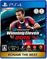 New PlayStation 4 WORLD SOCCER Winning Eleven 2015 KONAMI THE BEST PS4 JAPAN