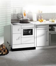 Küchenherd Kohleherd Haas+Sohn HA 75.5-A weiß Stahlkochfeld rechts