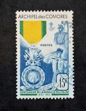 Sello COMORES / Stamp (Colonia) - Yvert & Tellier nº12 Matasellados (Col1)