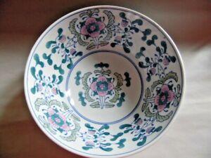 Chinese Porcelain Bowl Floral Decoration