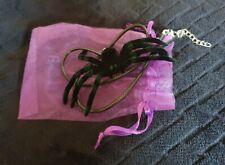 Handmade Spider Necklace