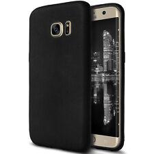Smartphonehoesje voor Samsung Galaxy S6 Edge Telefoon Case Gummi Zacht Zwarte