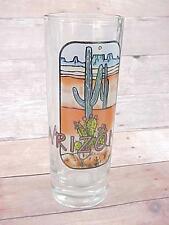 "Vintage ARIZONA Souvenir Shot Glass  4""  Glass Shooter"