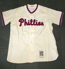 NWOT Mitchell & Ness 1948 Philadelphia Phillies #1 ASHBURN Baseball Jersey XL