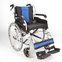 ECSP01-18 Lightweight folding self propelled wheelchair with hand brakes