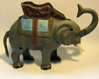 1975 Vintage plastic elephant piggy bank