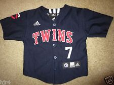 Joe Mauer #7 Minnesota Twins MLB Adidas Jersey Baby Toddler 24m Cute
