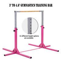Adjustable Junior Gymnastics Bar Horizontal Training Bar Kids Kip Bar Home Gym