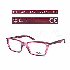 Ray Ban RB 5241 5134 Stuped Fuschia 50/17/140 Eyeglasses Rx - New Authentic