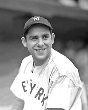 New York Yankees YOGI BERRA Glossy 8x10 Photo Print Baseball Poster