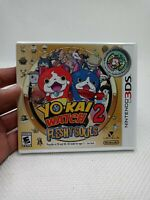 Yo-Kai Watch 2: Fleshy Souls Nintendo 3DS & 2D Exclusive Medal Included ✅