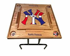 Dominican Republic Domino Table With the NY logo