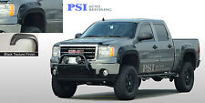 "BLACK TEXTURED Pop-Out Fender Flares 07-13 GMC SIERRA 1500 SHORT BED 69.3"" ONLY"