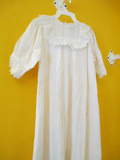 Reproduction Victorian Christening Gown 100% Cotton