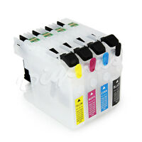 Empty Refillable Inkjet Cartridge Set for Brother LC203 MFC-J5620DW MFC-J5720DW