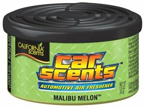 California Car Scents Malibu Melon Air Freshener