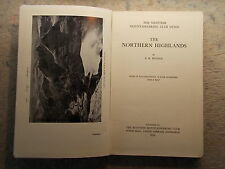 The Northern Highlands; The Scottish Mountaineering Club Guide by E W Hodge (M)