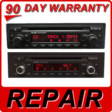 REPAIR Audi A3 A4 A6 A8 S4 S6 TT Radio CONCERT SERIES CD Disc Player Changer FIX