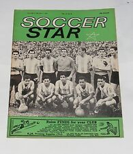 SOCCER STAR MAGAZINE JUNE 2ND 1962 - ARGENTINA TEAM GROUP