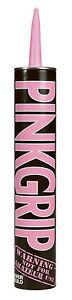 Everbuild Pink Grip Builders Adhesive 350ml C3