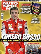 AutoSprint.Fernando Alonso,Jacques Villeneuve,Emanuele Naspetti,Sebastian Loeb,i