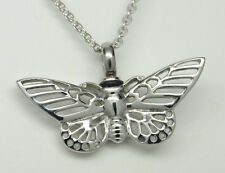 BUTTERFLY CREMATION URN NECKLACE BUTTERFLY CREMATION JEWELRY MEMORIAL KEEPSAKE