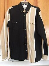 Men's Top Hand Co-Op Western Shirt Button Front Size Small
