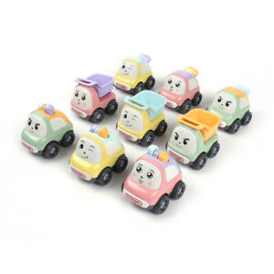 Baby Toddler Toy Push Go Friction Powered Car Truck Set - PACK OF 3 Toys - 18m +