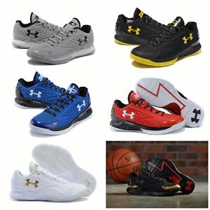 Hot Fashion!Men's Under Armour Curry 1 TRAINING Low Basketball Shoes US7-12