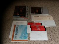 "Sword of the Samurai IBM PC Game 5.25"" disks with box, map & manual"