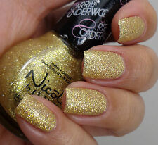 Nicole by OPI Nail Polish Carrie Underwood CARRIED AWAY, Full Sized Gold New